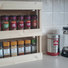 Wooden Spice Rack 2 Tier