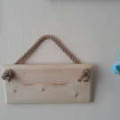 Plain Blank Hanging Wooden Sign Plaque