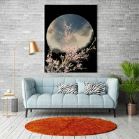 Cherry Tree-Moon Downloadable Print