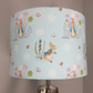 Peter Rabbit design lampshade in blue