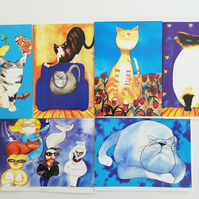 Pack of 6 Pookie Cat Cards