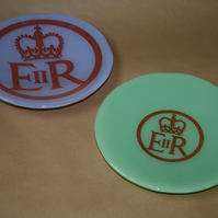 Queen Elizabeth Diamond Jubilee Printed Bowl - Made to Order in Any Colour