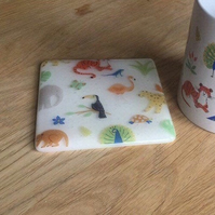 Wild Animal Printed Coaster