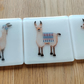 Single Llama Coaster - various designs available