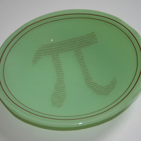 Geeky Pi Bowl DESIGN TWO - made to order in any colour