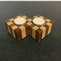 Wooden Tealight Holder, Tea light Holder, Candle Holder, handmade, Home Decor,