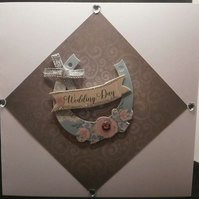 Homemade Wedding Card