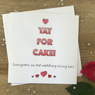 Funny Congratulations Wedding Card