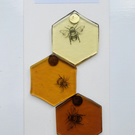 Sticky Bee Magnets
