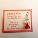 Thank You Gift True Heroes With Heart of Gold Show Appreciation NHS Key Ring v2
