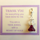 Thank You Gift True Heroes With Heart of Gold Show Appreciation NHS Key Ring v1
