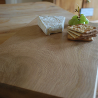 Stunning Handmade Solid Oak Chopping or Serving Board