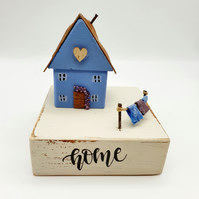 'HOME' Reclaimed Wood Cottage