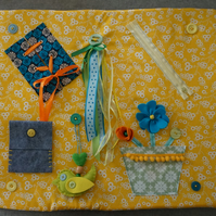 Dementia activity blanket