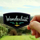 Wanderlust Hiking Patch