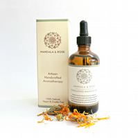 Stimulating Body and Massage Oil - Aromatherapy Massage Oil With Essential Oils