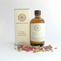 Soothing Aromatherapy Bath Oil - Relaxing Bath Oil With Essential Oils Spa Bath