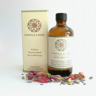 Exotic Aromatherapy Bath Oil - Sensual Bath Oil With Essential Oils