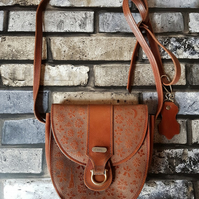 'The Moongazer' Up-cycled Leather Handbag