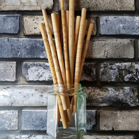 Leaf Bamboo Straw
