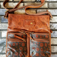 'Mothers of Nature' Leather Up-Cycled Handbag
