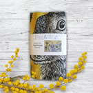 Quirky Hare Napkin - Mustard
