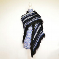 Hand Knitted Wool Wrap