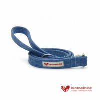 Denim Fabric Dog Lead