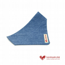 Denim Fabric Dog Bandana