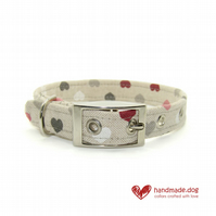 Hearts Dog Collar