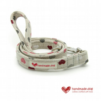 Hearts Dog Lead
