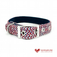 Limited Edition 'London' 'Harris Tweed' Dog Collar