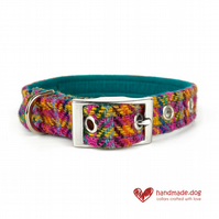 Limited Edition 'Rio' 'Harris Tweed' Dog Collar