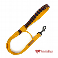 Limited Edition 'Manhattan' 'Harris Tweed' Dog Lead