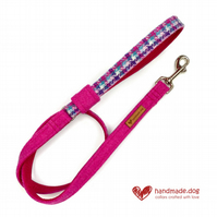 Limited Edition 'Miami' 'Harris Tweed' Dog Lead
