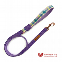 Limited Edition 'Paris' 'Harris Tweed' Dog Lead
