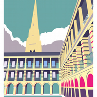 The Piece Hall, Halifax - Print