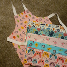 Children's lined aprons