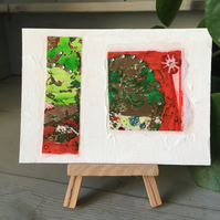 Summer in the Country No. 9: Handmade Mini Abstract Artwork