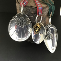 Spoon bowl Christmas decorations
