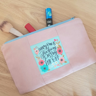 Everyone is fucking pissing me off make up bag