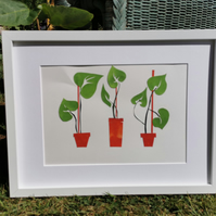 Plant Picture - Simple Collages Art 6
