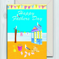 English summer Fathers day card