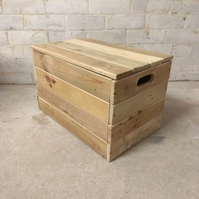Handmade Rustic Wooden Storage Boxes
