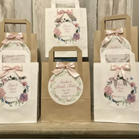 Personalised Hen Party bags Wedding bags