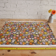 "5 Sheets of 1950s Style SANDERSON Floral Craft Drawer Box Liner Paper 30"" x 22"""