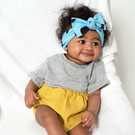 Blue Confetti Baby & Toddler Headband