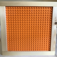 Lego Wooden-Framed BaseBoard  - 'You've Been Tangoed' - For Building & Display