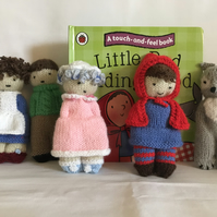 Storytime Book 'n' Toy - 'Little Red Riding Hood' & Ladybird Book & 5 Figures