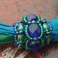 Silk Ribbon Bracelet